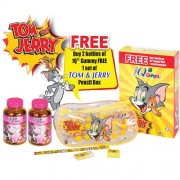 T & J Promo Pack 2014 (Free Tom & Jerry Pencil Box)
